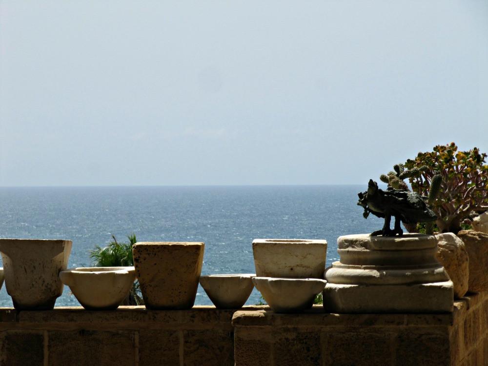 View from Ilana Goor Museum