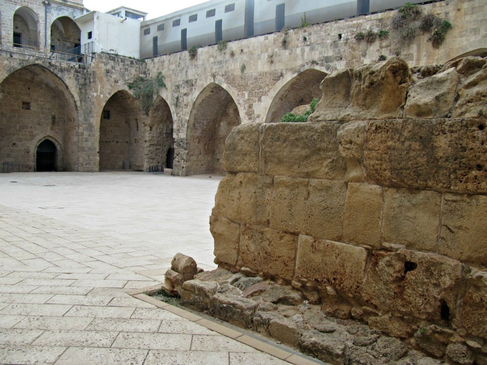 Hospitaller Fortress / Knights' Halls in Acre