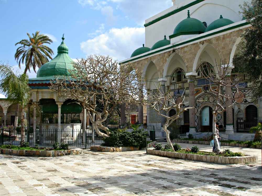 Jezzar Pasha Mosque in Acre