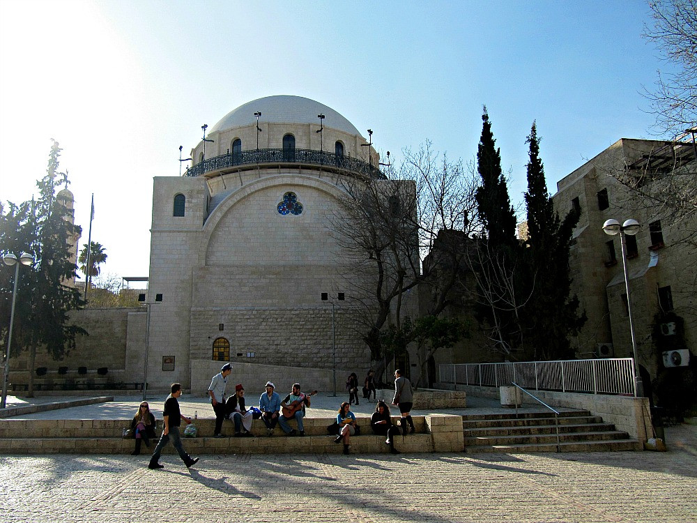 Old City of Jerusalem - Jewish Quarter - Hurva Synagogue