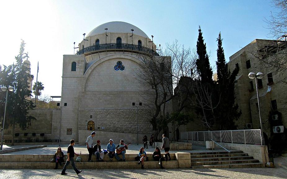 Old City of Jerusalem - Jewish Quarter - Hurva Synagogue