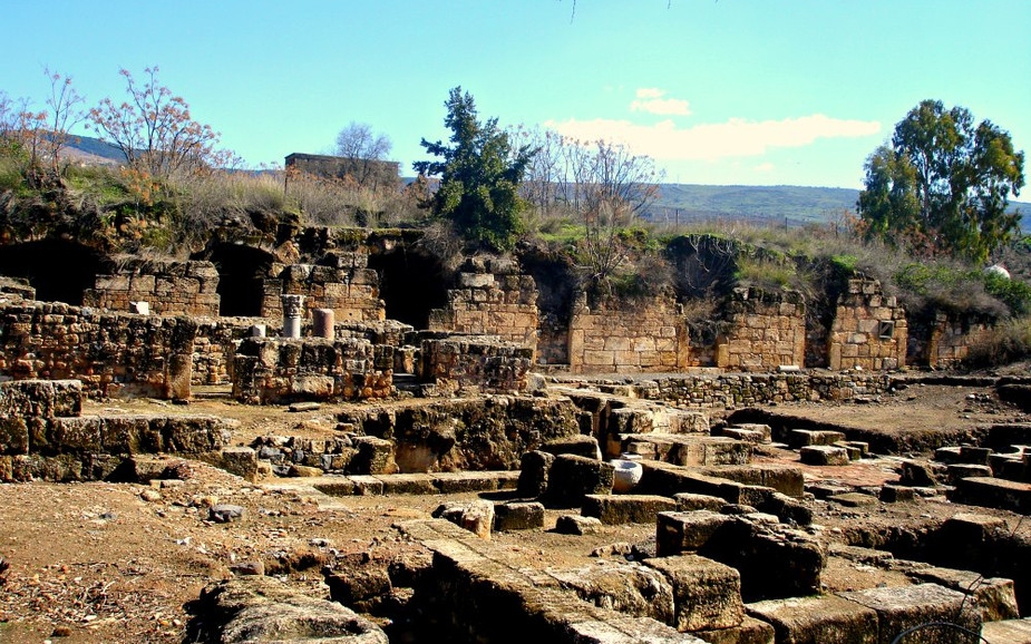 Temple of Pan Archaeological Site - Hermon Stream - Banias