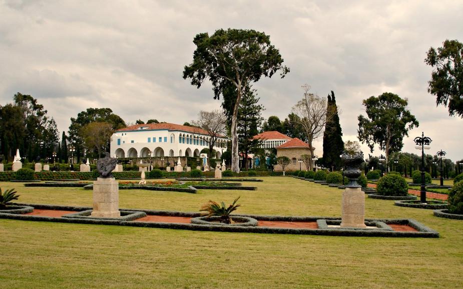 Bahai Garden in Akko