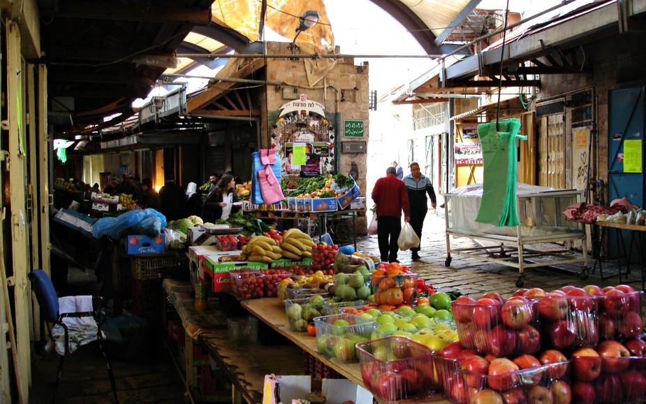 Shuk (Market) in Acre