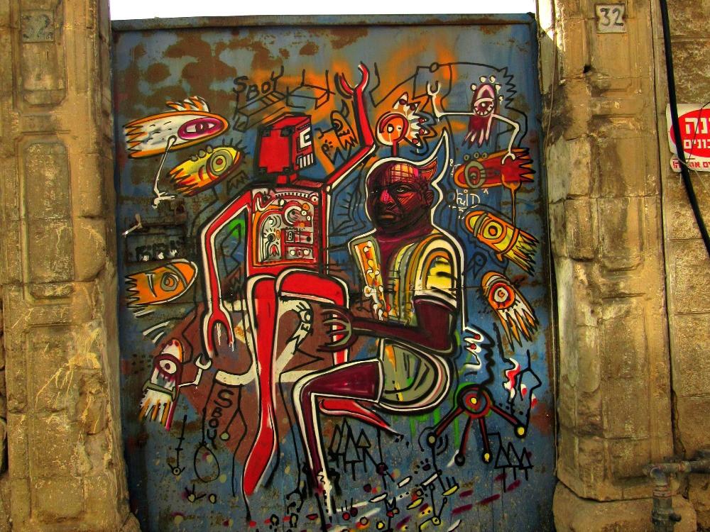 Neve Tzedek Neighborhood in Tel Aviv