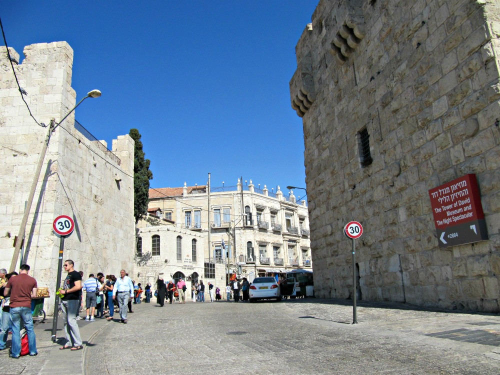Old City of Jerusalem - Christian Quarter - Jaffa Gate