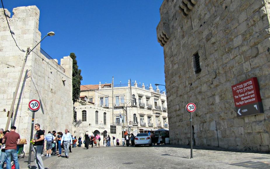 Old City of Jerusalem - Christian Quarter - Jaffa Gate