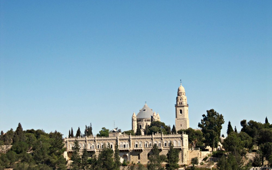 Armon HaNatziv Promenade - View on the Old City