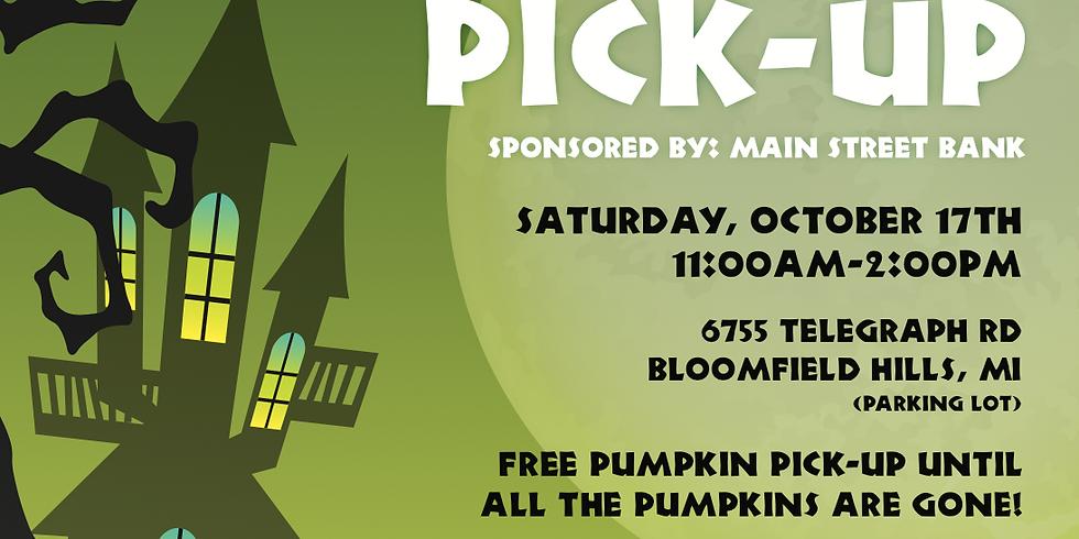 Spooktacular Pumpkin Pickup
