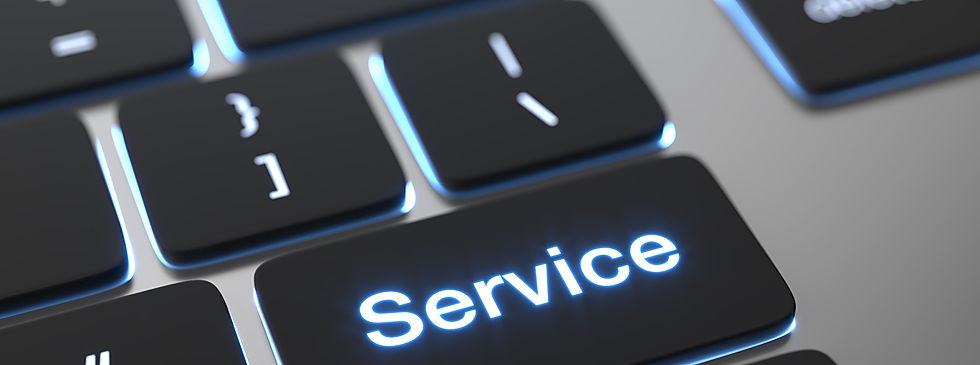 service-text-written-on-keyboard-button_