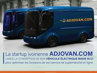 La Startup ADJOVAN.COM rêve à son propre véhicule électrique!