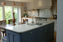 Painted Contemporary Kitchen