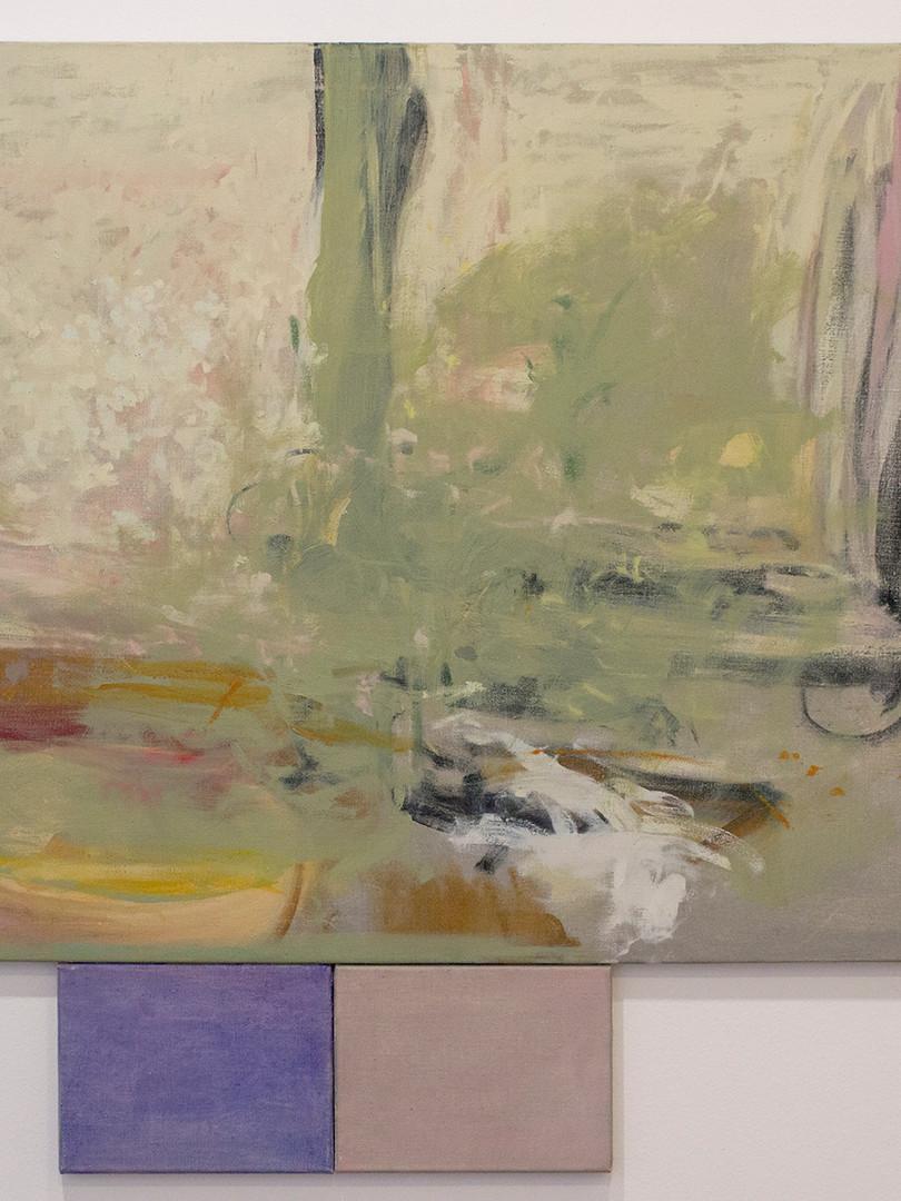 Gris, morado y rosado (Triptico) 1 80x10