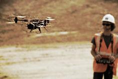 Tournage drone multirotors