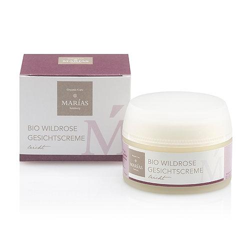 Bio Wildrose Gesichtscreme leicht, 50 ml