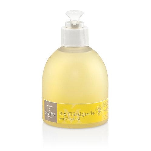 Bio Flüssigseife mit Olivenöl, 250 ml