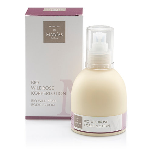 Bio Wildrose Körperlotion, 200 ml