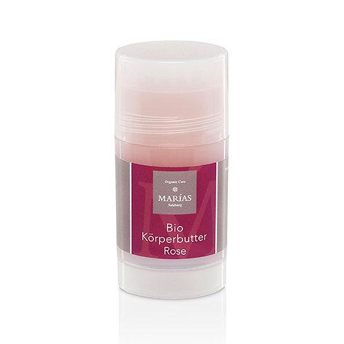 Bio Körperbutter Rose, Drehstift, 70 g