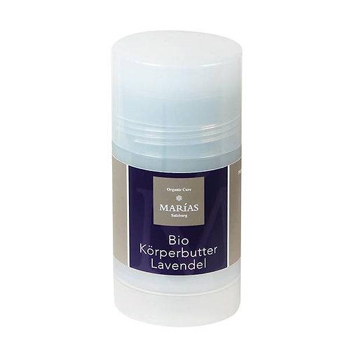 Bio Körperbutter Lavendel im Drehstift, 70g