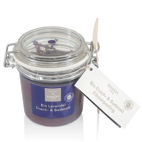 Bio Lavendel Dusch- & Badesalz, 550 g