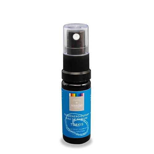 Farbenergie-Spray Eau de Parfum türkis, 10 ml