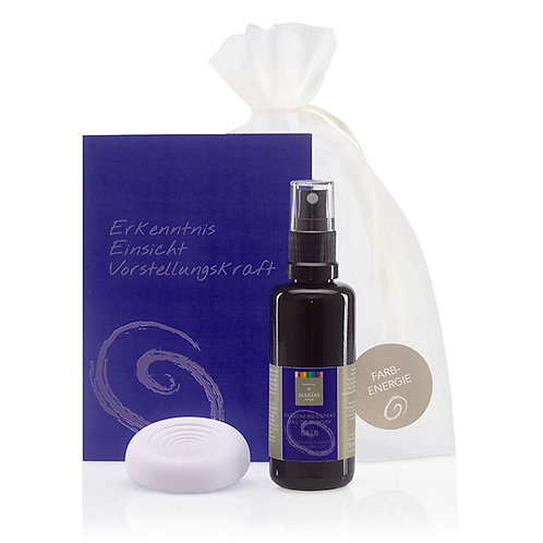 Set Bio Farbenergiespray-Set INDIGO, 50 ml