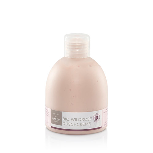 Bio Wildrose Duschcreme, 200 ml