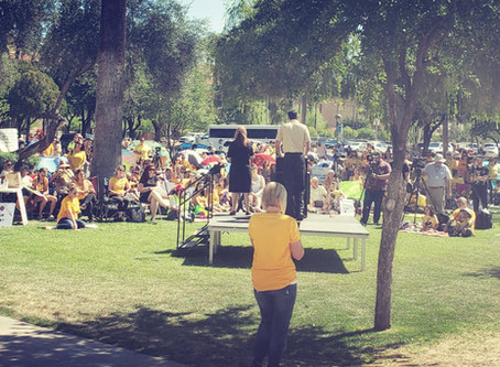 """""""AZ Coalition for Medical Freedom"""" Hosts Arizona's 1st """"March for Medical Freedom""""!"""