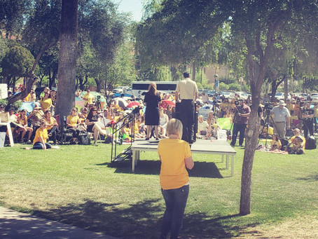 """AZ Coalition for Medical Freedom"" Hosts Arizona's 1st ""March for Medical Freedom""!"