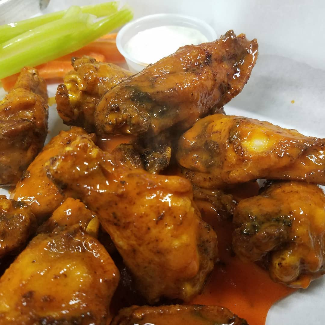 roasted buffalo wings
