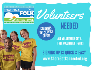 BE A VOLUNTEER - Shifts now OPEN