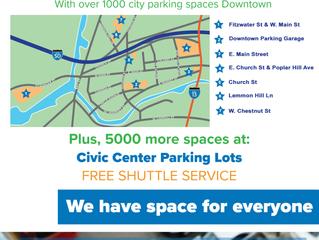Festival Parking Plans Announced