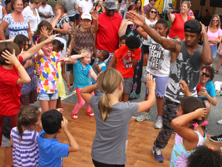 Vibrant Array of Family Area Activities and Performances