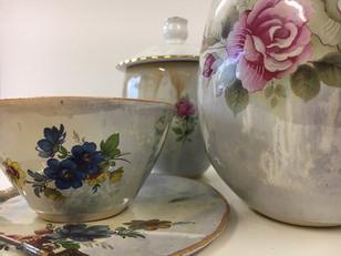 Close up of ceramics