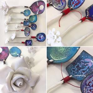 Porcelain spoons Ann Povey