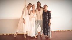 yoga teacher training team