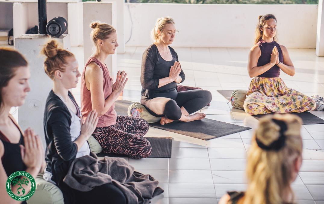 meditation på goa