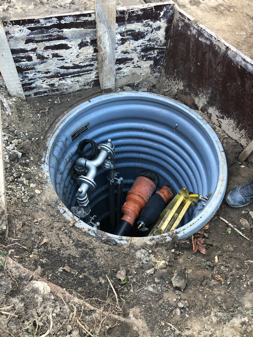 Sewage lifting unit