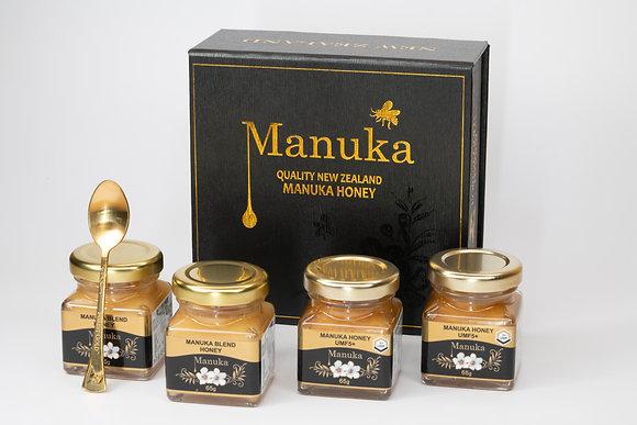 UMF Manuka Honig Gift Box 4x65g