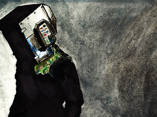 Alistair Quietsch 'Electric Faces' Art Revealed