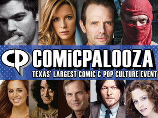 Comicpalooza 2016 adds 'Electric Faces' to its star-studded line up
