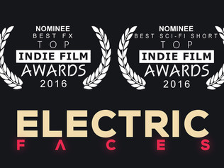 'Electric Faces' nominated for two awards at Top Indie Film Awards 2016