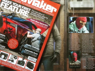 Electric Faces featured in Digital Filmmaker Magazine