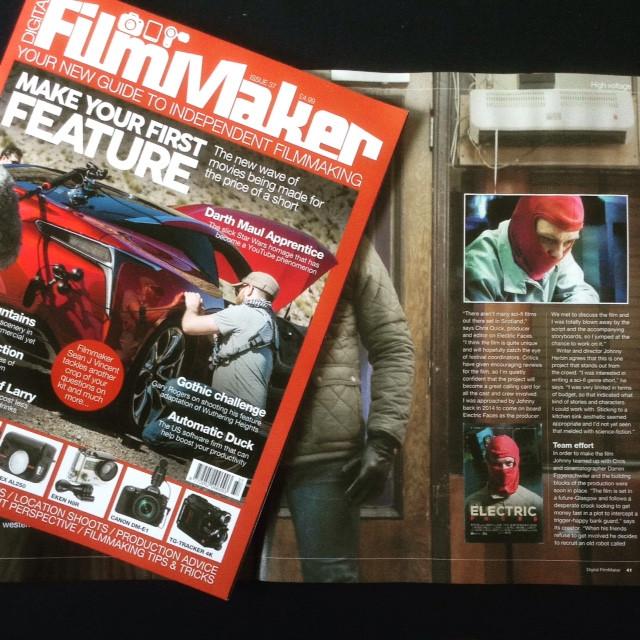 Electric Faces in Digital Filmmaker Magazine
