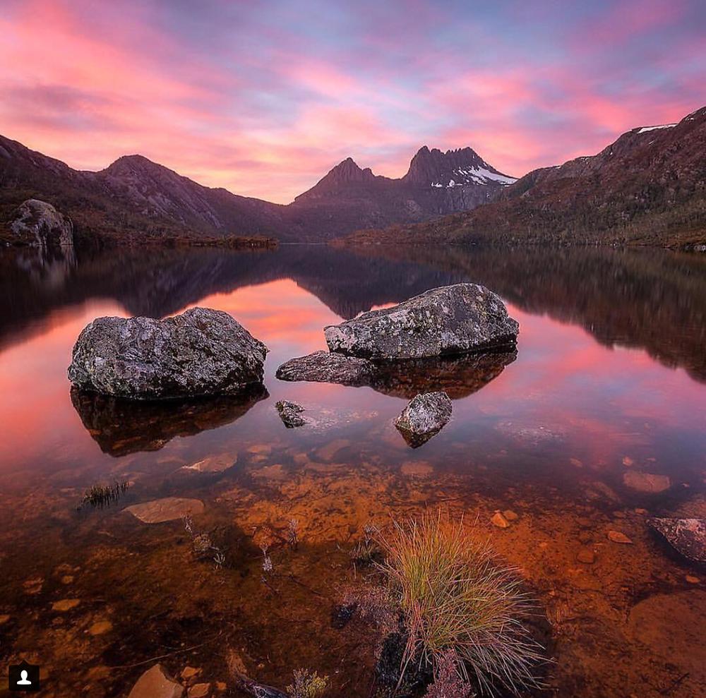 Lake of tranquility, Tasmania