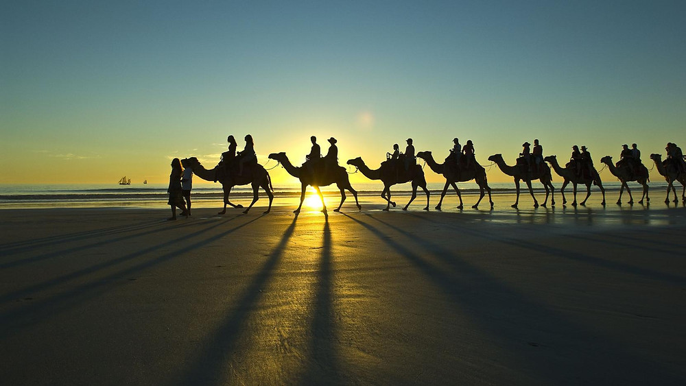 Cable Beach, Broome is situated on the traditional lands of the Yawuru people