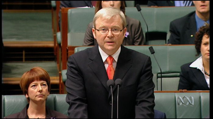 Kevin Rudd's National Apology to the stolen generation