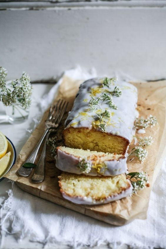 Finger Lime Tea Cake