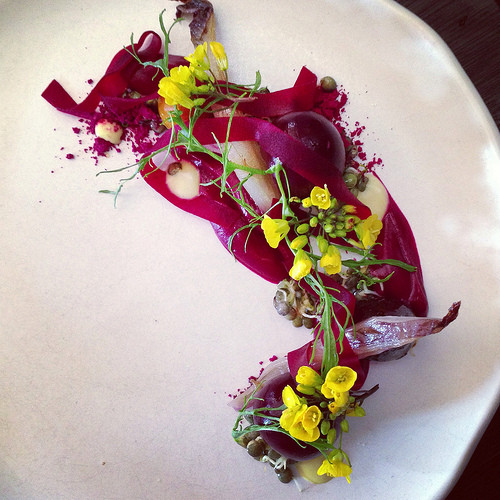 Chef Brent Savage is committed to using native Australian Ingredients whenever possible in his restaurant, Bentley Bar