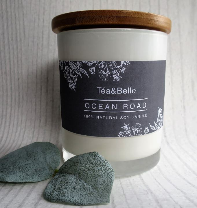 Ocean Road Candle. 100%Australian made. the perfect ethical gift for christmas. Indigenous owned business